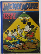 WALT DISNEY Mickey Mouse Story Book FIRST EDITION
