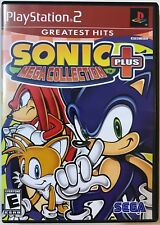 PS2 - Play Station 2 - Sonic Mega Collection Plus - E-Everyone - Complete