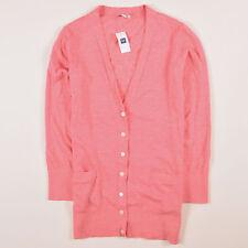 GAP Damen Cardigan Pullover Sweater Gr.M (DE 40) Leinen Rosatöne, 54324