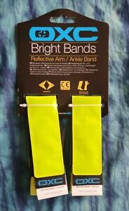 Pair of OXC Hi Viz Reflective Ankle Arm Bands Cycle Running - Oxford Products