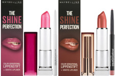MAYBELLINE The Shine Perfection Color Sensational Lipstick & Liner Kit - Choose