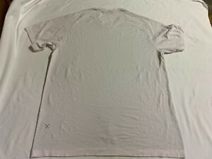 Lululemon  Metal Vent Tech T-shirt White GREY S/S SIZE LARGE L  EUC