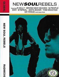 Various New Soul Rebels CASSETTE ALBUM Hiphop Soul Massive Attack Brandy R Kelly