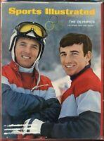 SI: Sports Illustrated February 5, 1968 Olympics U.S. Skiers Kidd and Heuga G