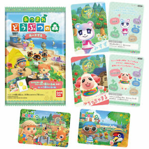 Bandai Animal Crossing New Horizons Gummy Cards