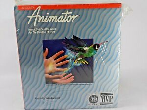 AUTODESK ANIMATOR Version 1.01 Vintage Software SEALED