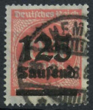 Germania SG # 288, 125T su 200m rose-pink utilizzato #A 85079