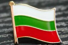 BULGARIA Bulgarian Metal Flag Lapel Pin Badge *NEW*