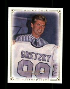 2008-09 UD Masterpieces #20 Wayne Gretzky (ref 122621)