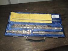 Gemeinhardt 3SHB Open Hole Solid Silver J1 Headjoint Flute W/ Case NICE 3 SHB