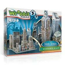 WREBBIT 3D JIGSAW PUZZLE NEW YORK COLLECTION MIDTOWN EAST 875 PCS  #W3D-2011