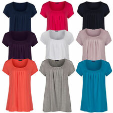 Marks and Spencer Crew Neck Short Sleeve T-Shirts for Women