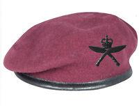 RGR Royal Gurkha Rifles AIRBORNE Maroon Beret & Black Field Cap Badge 16 AA Para