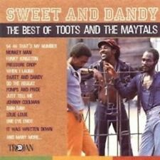 """THE TOOTS & MAYTALS """"SWEET AND DANDY: THE BEST OF"""" CD"""