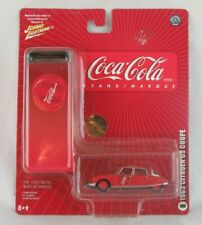 Johnny Lightning Coca Cola 1963 Citroen DS Coupe #8 Sealed on Card