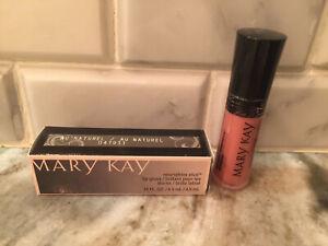Mary Kay NouriShine Plus Lip Gloss- Au Naturel #047933 Free Shipping