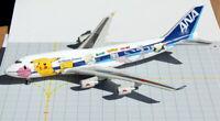 BBOX8962 ANA All Nippon Airways B747-400 Pokemon JA8962 Diecast 1/200 Jet Model