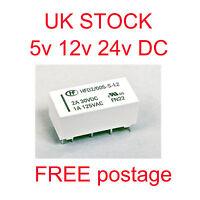 5v, 12v, 24V Coil Bistable Latching Relay DPDT 2A 30VDC  - High Quality