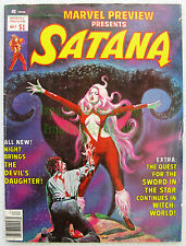 Marvel Preview #7 Satana 1st Rocket Raccoon Guardians of the Galaxy Nice Big Pix