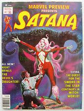 Marvel Preview #7 Satana 1st Rocket Raccoon Guardians of the Galaxy Nice Big Pix