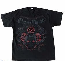 Dream Theater Short Sleeve Shirt Mens Black Size Large