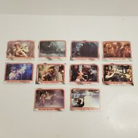 Lot of 10 Cards 1980 Topps Star Wars THE EMPIRE STRIKES BACK Series 1 #60-69