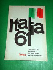 Cartolina Italia '61 - Torino Celebrazione del Centenario  Unità d' Italia