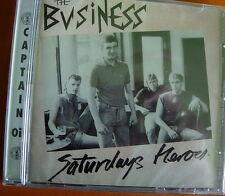 The Business Saturdays Heroes CD+Bonus Tracks NEW SEALED Punk Oi! Hurry Up Harry