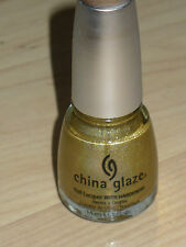 NEW CHINA GLAZE OMG HARD TO FIND HTF NAIL POLISH IN GR8 GOLD HOLOGRAPHIC