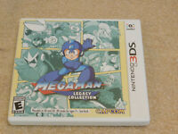 Mega Man Legacy Collection (Nintendo 3DS) Complete Game w/ Stickers & Manual