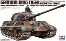 TAMIYA 35164 King Tiger Tank Production Turret 1:35 Military Model Kit