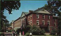 Vintage Kalamazoo College Michigan MI Postcard Hoben Hall Residence for Men