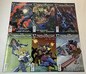 Dark Horse THE TERMINATOR ENEMY OF MY ENEMY comics #1 2 3 4 5 6 ~ FULL SET
