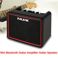 NUX Mighty Lite BT Portable Bluetooth Guitar Amplifier Guitar Speaker Drum Amp