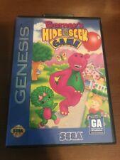 Barneys Hide and Seek Game SEGA Genesis Video Game