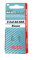 NEW! Maglite Mag-Lite Mini-Mag AA Flashlight Replacement Bulb Lamps - LM2A001