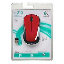 Logitech Wireless Mouse M310 (Flame Red)