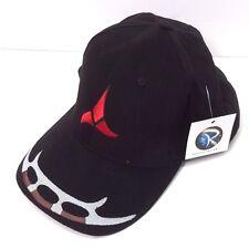 Star Trek KLINGON Logo DELUXE Embroidered Fabric Cap/Hat- Adjustable (HAT004)