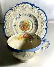 Crown Ducal A2913 Floral Pattern Cup And Saucer