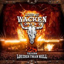 LIVE AT WACKEN 2017-28 YEARS LOUDER THAN HELL  EUROPE/KREATOR/+ 3 CD+DVD NEUF