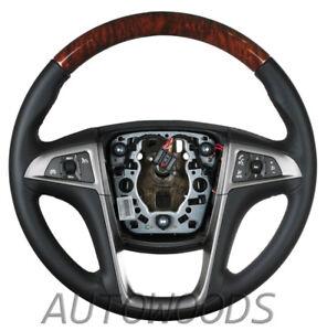 GM Buick LACROSSE STEERING WHEEL - Black  - (Buick Regal)  NEW 2010 - 2013