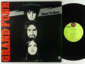 Grand Funk Railroad - Closer To Home LP - Capitol VG+