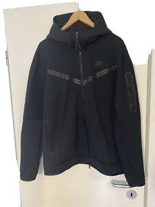 NIKE Sportswear Hoodie m Reissverschluss Tech Fleece Black Gr. L neu 100% Orig