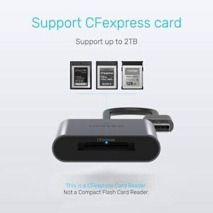 CFexpress 2.0 Aluminium Card Reader USB Gen 2 10Gbps USB-C PC Mac R1005A Unitek