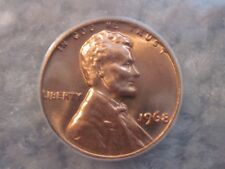 1968 ANACS LINCOLN CENT MS 67 RD