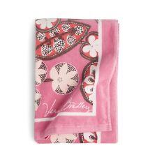 "Vera Bradley Blush Pink Beach Towel 33"" x 66"" Plush Floral Towel NEW"