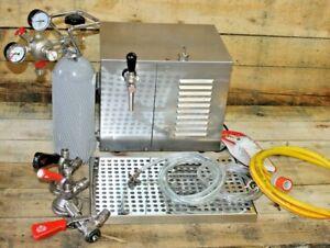 Trockenkühler Bierkühler Durchlaufkühler Schankanlage Zapfanlage Bierzapfanlage
