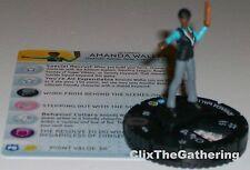 AMANDA WALLER #034 The Flash DC HeroClix Rare