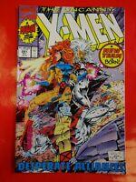 X men uncanny #281 comics Marvel Comic book 90s :- crime wave comics