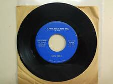 """RICK COLE: I Can't Wait For You 2:30-From A Broken Heart-U.S. 7"""" Universal Sound"""